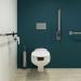 WC + bidet dla osób niepełnosprawnych